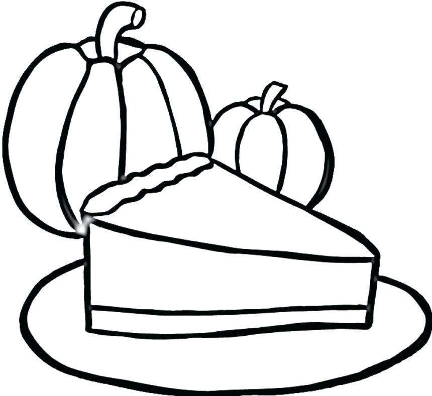 860x789 Pie Coloring Pages Pumpkin Pie Coloring Page Cutie Pie Coloring