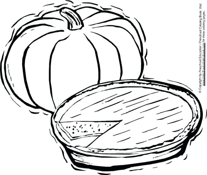 660x558 Pie Coloring Sheet Pie Coloring Sheet Piece Of Pumpkin Pie
