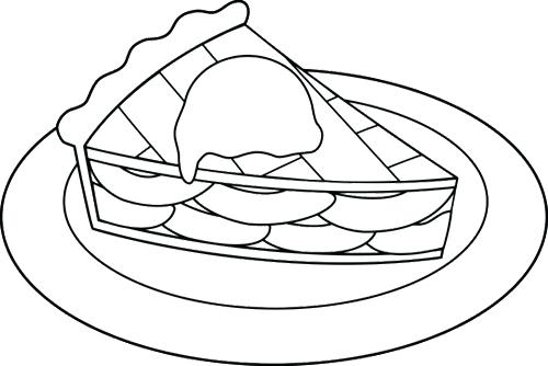 500x334 Tweety Pie Coloring Pages Pie Coloring Page Just Baked Apple Pie