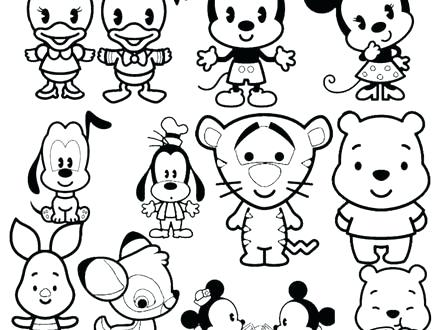 440x330 Tsum Tsum Coloring Pages Cuties Kids Coloring Pages Tsum Tsum