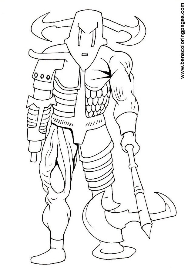 620x892 Cyborg Coloring Pages For Children