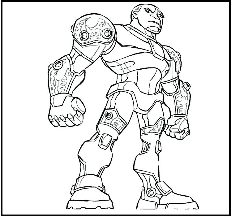 747x701 Dc Justice League Coloring Pages Teen Titans Cyborg Coloring Pages