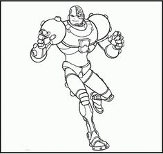 236x222 Lego Cyborg Coloring Pages