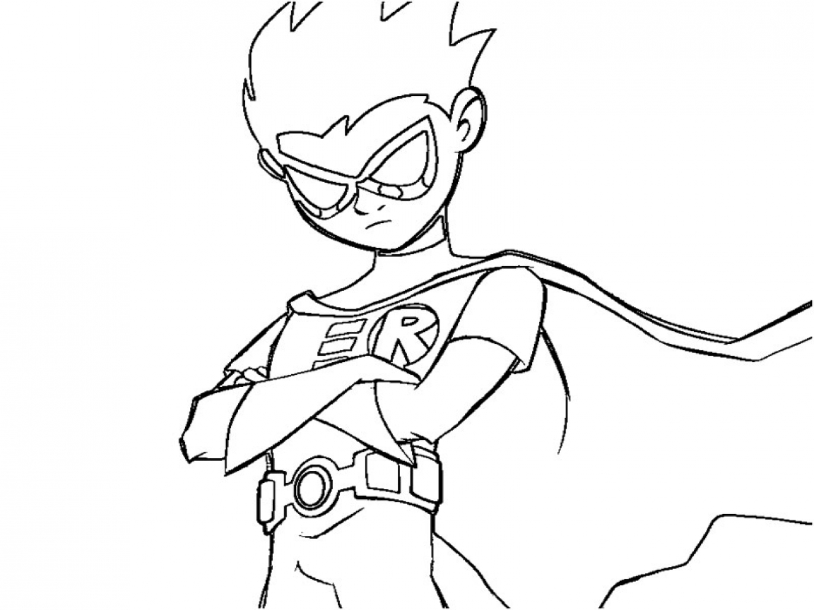 1152x864 Teen Titans Go Coloring Pages To Print Car Tuning
