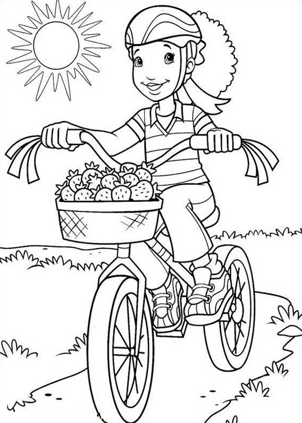 600x840 Drawn Bicycle Colouring Fresh Bicycle Coloring Book
