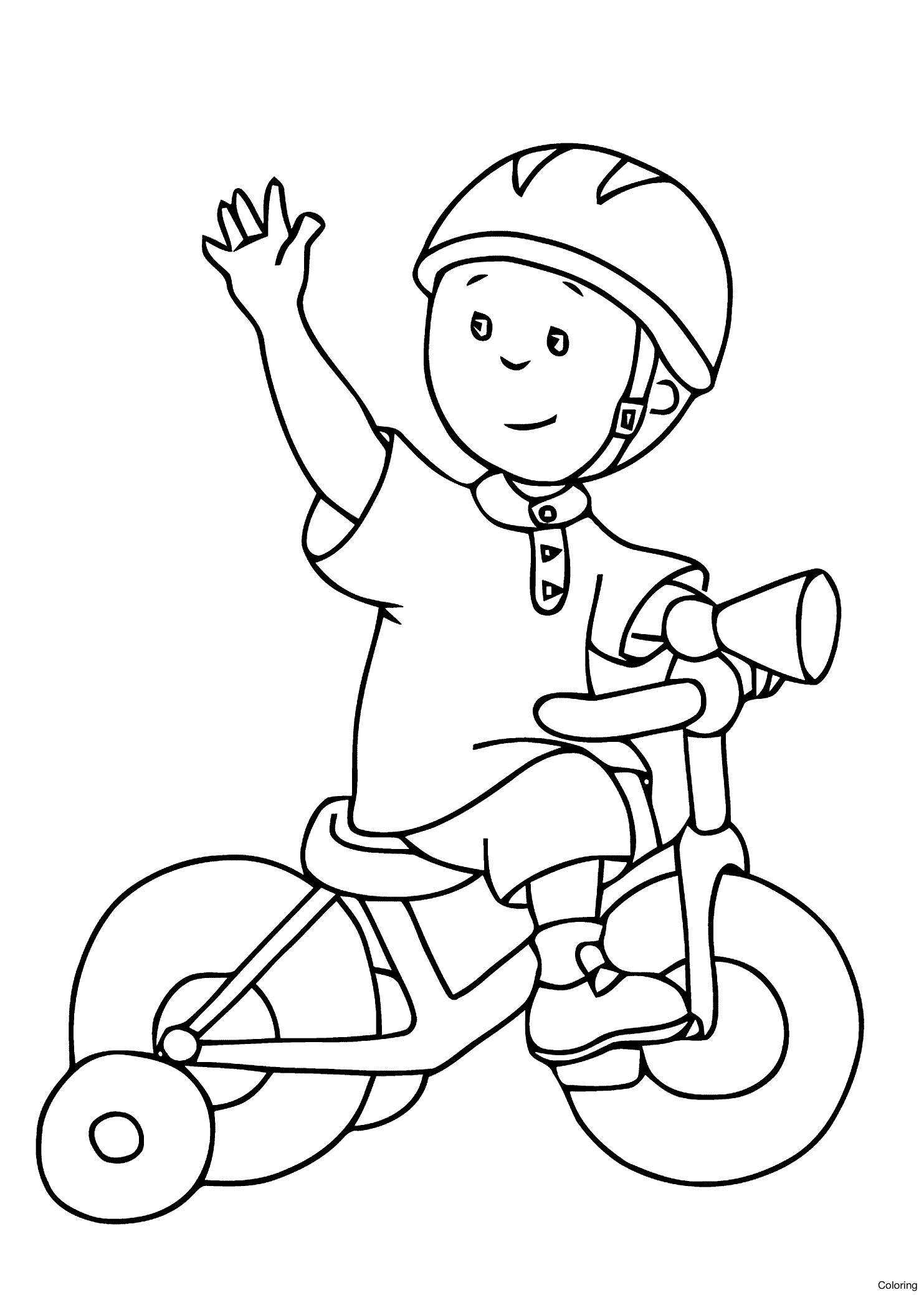 1483x2079 Tested Bicycle Coloring Pages Preschool Unique