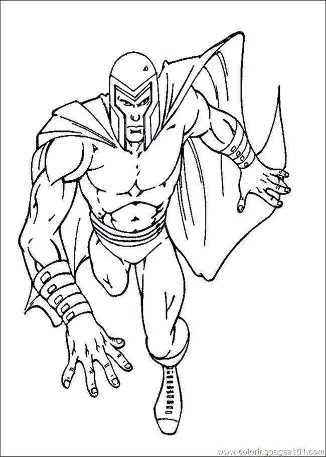 650x910 Xmen Coloring Pages Cyclops Coloring Page X Men Coloring Pages