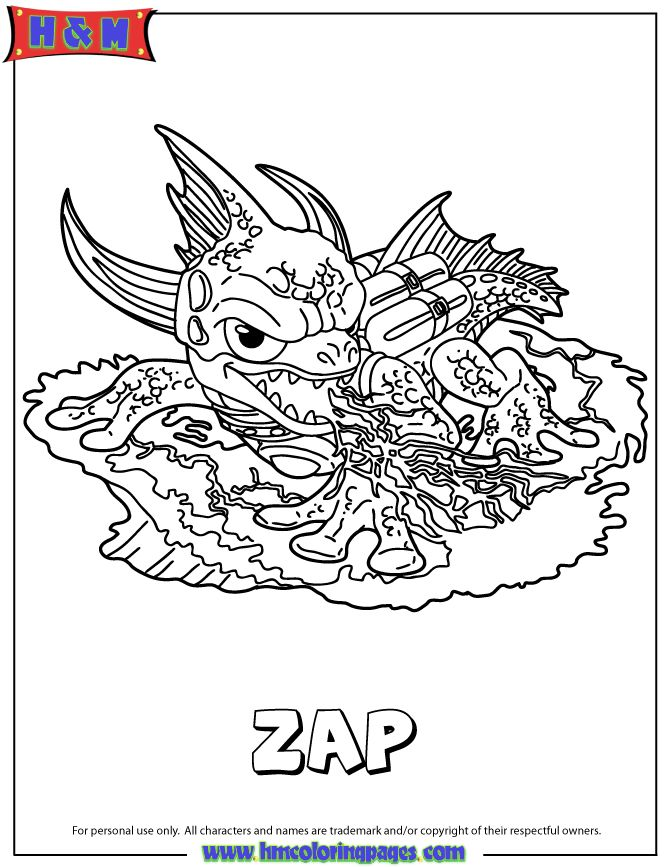 Cynder Coloring Pages