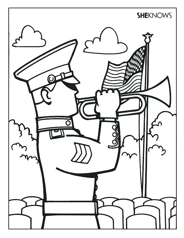 612x792 D Day Coloring Pages Coloring Page General In An Amphibious E