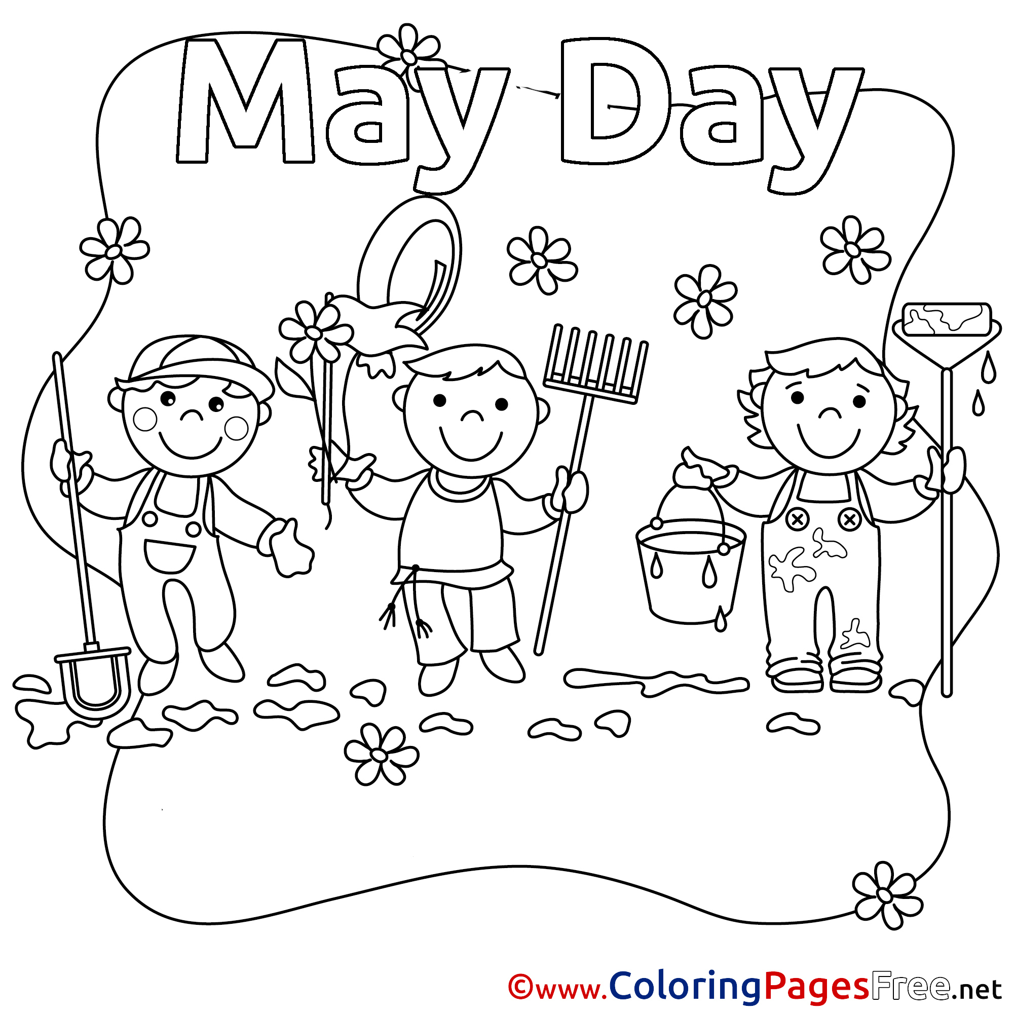 2001x2001 D Day Coloring Pages Printable