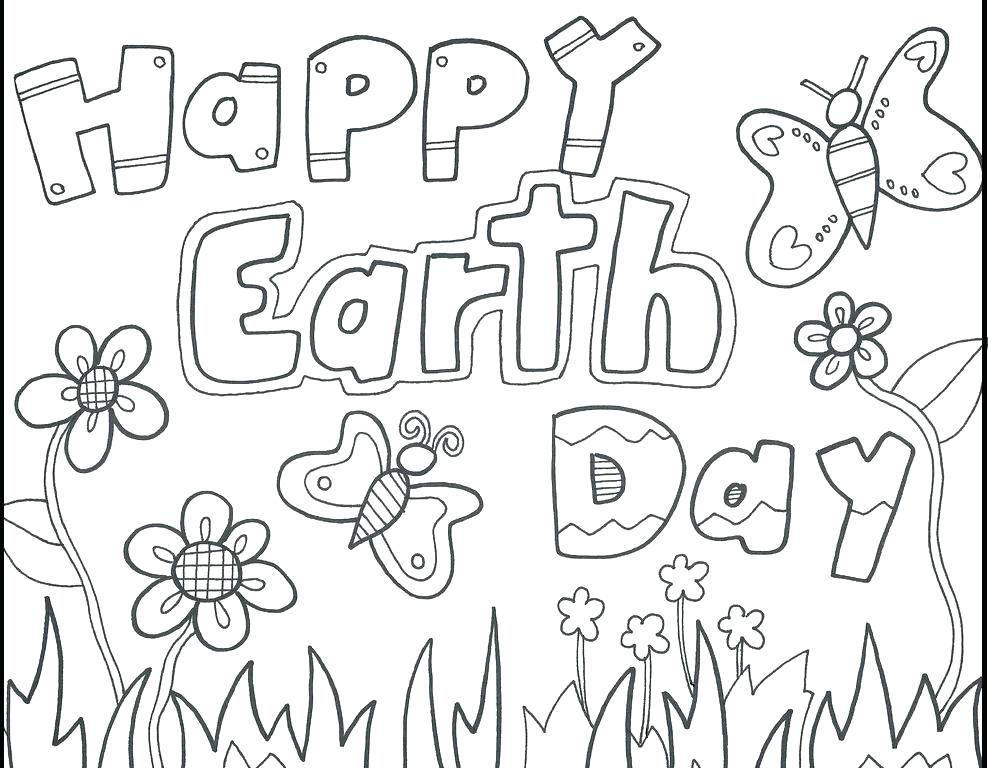 988x768 Earth Day Coloring Sheets Earth Day Coloring Sheets Free Printable