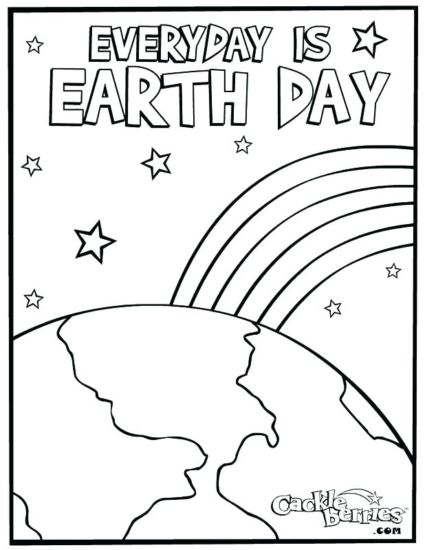 618x800 Happy Earth Day Coloring Page For Kids Pages With Best Earth Day