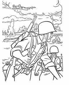 236x288 Veterans Day Coloring Pages
