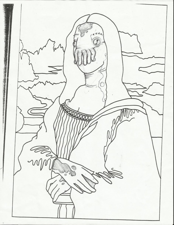 945x1224 Mona Lisa Coloring Page Luxury Leonardo Da Vinci Coloring Pages