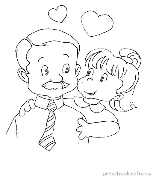 511x597 Father Day Coloring Pages Fathers Day Coloring Pages For Kids Free