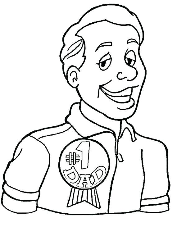 570x760 Coloring Pages For Dads Coloring Pages For Dad On Father S Day