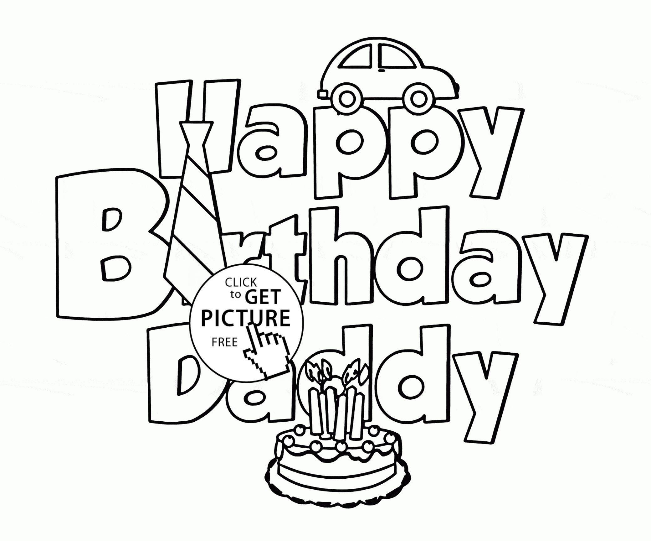 Dad Coloring Pages To Print at GetDrawings | Free download