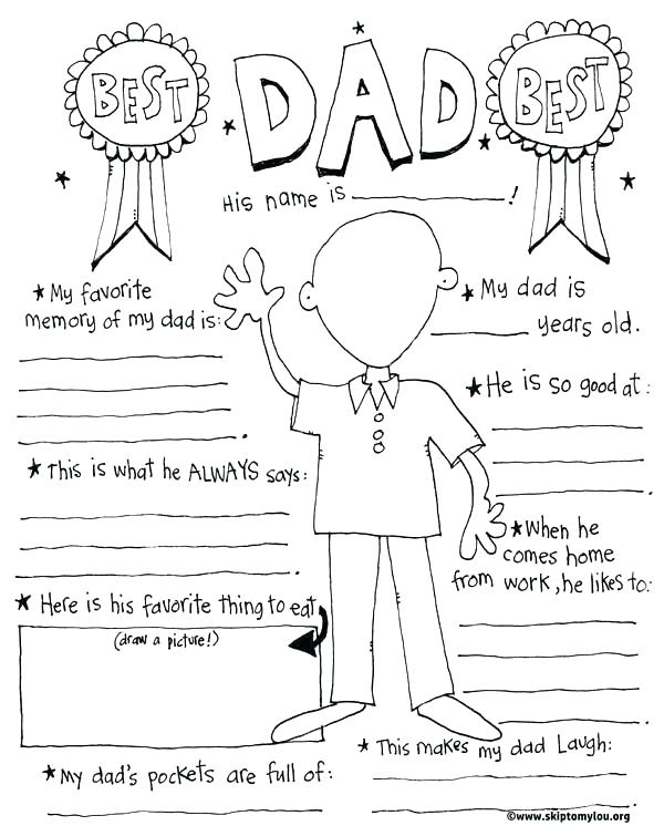 600x746 Coloring Pages For Your Dad