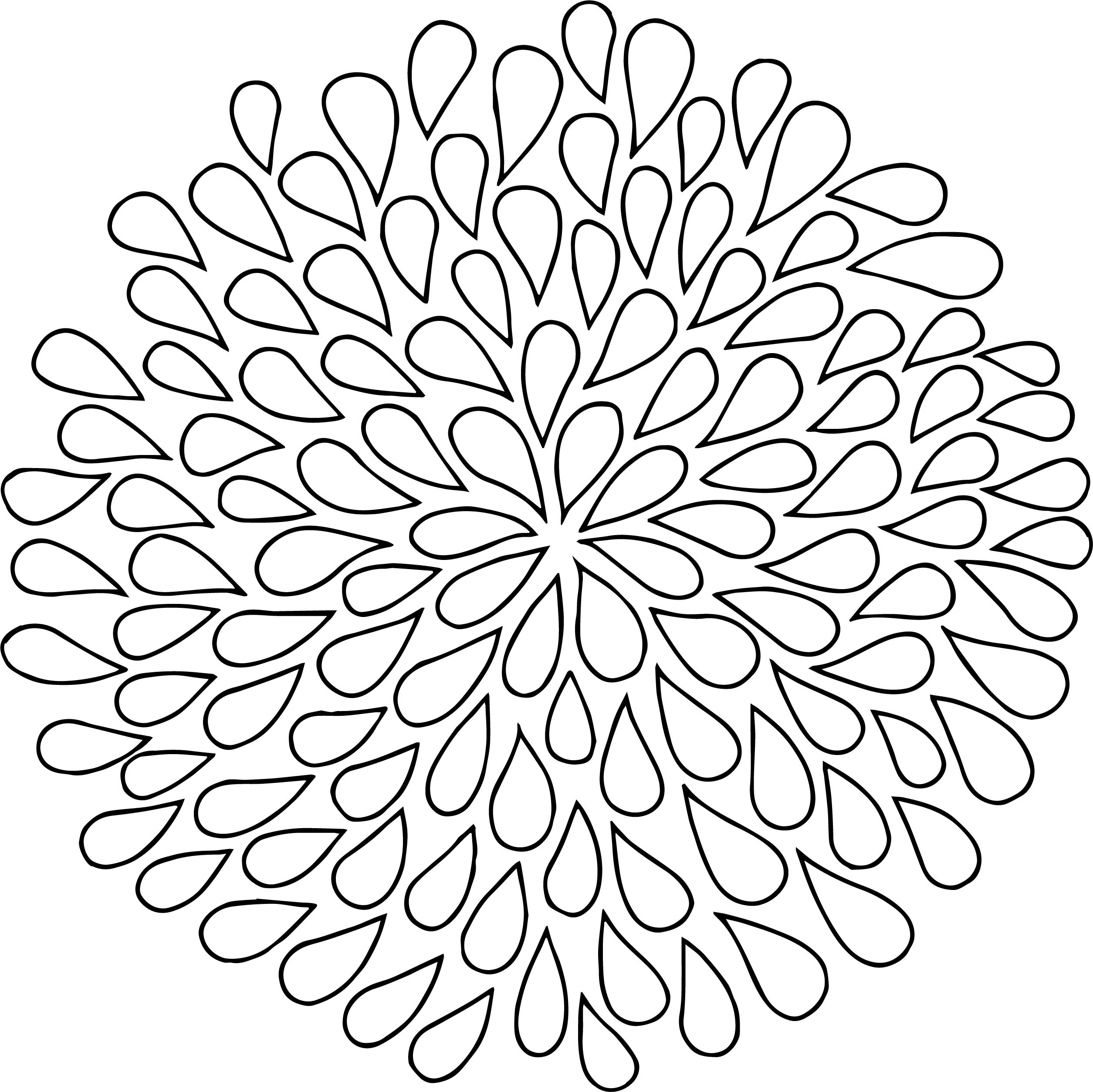 2509x2508 Awesome Dahlia Coloring Pages Gallery Printable Coloring Sheet