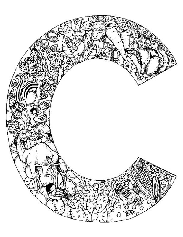 618x800 Daily Coloring Pages Alphabet