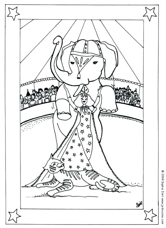 653x900 Daily Coloring Pages Free Circus Coloring Pages Circus Coloring