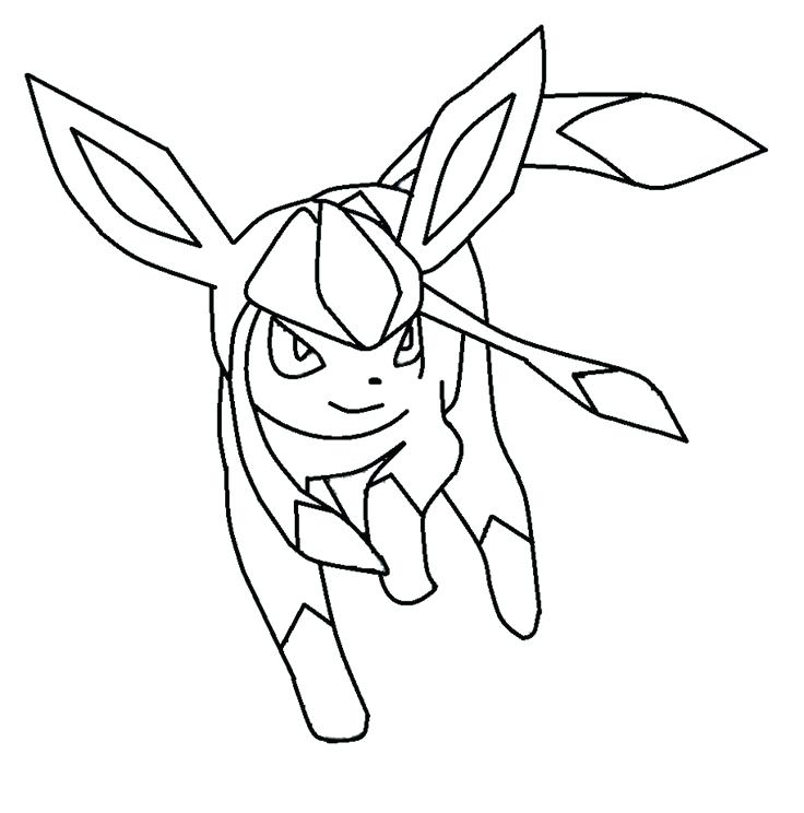 736x744 Eevee Evolutions Coloring Pages Coloring Pages Daily Colouring