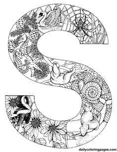 236x305 Doodlescoloring Alphabet