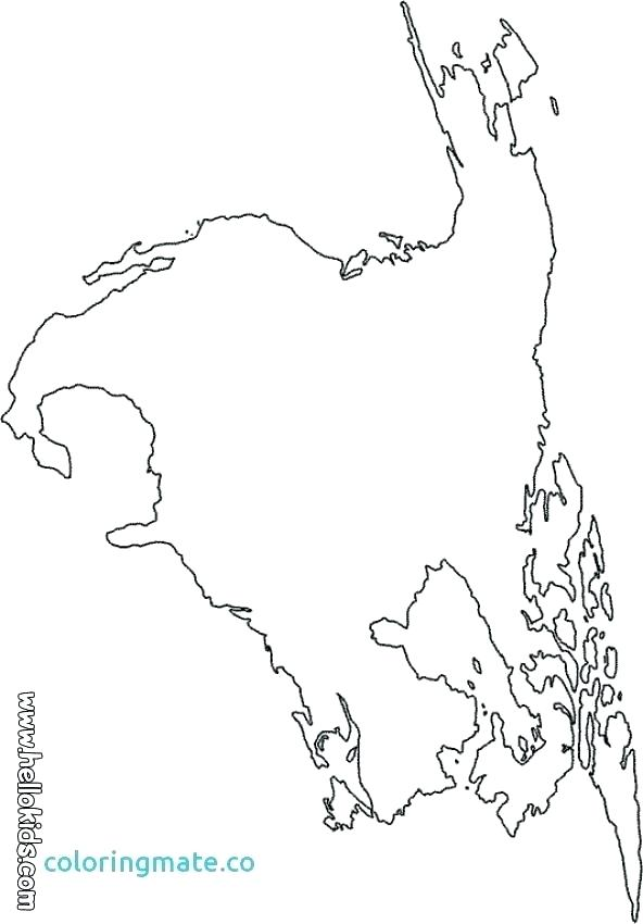 592x850 United States Map Coloring Page Map Coloring Page Map Coloring
