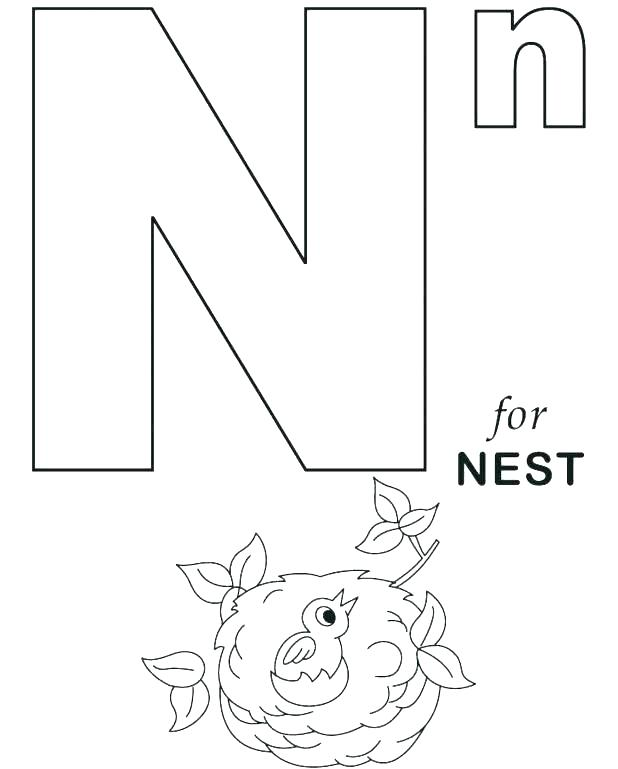 618x769 Coloring Pages Alphabet Animals Daily Coloring Pages Coloring