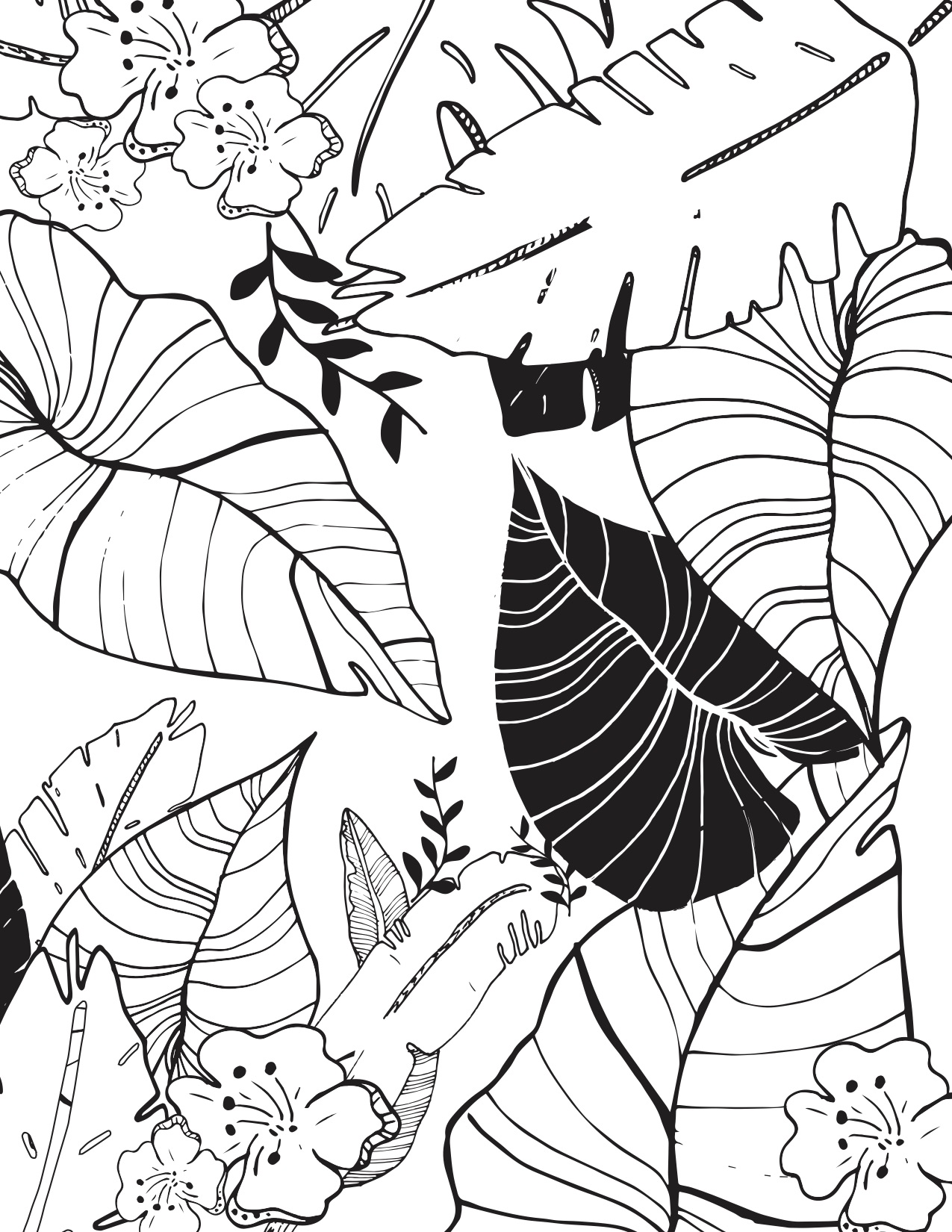 1275x1650 Daily Coloring Pages