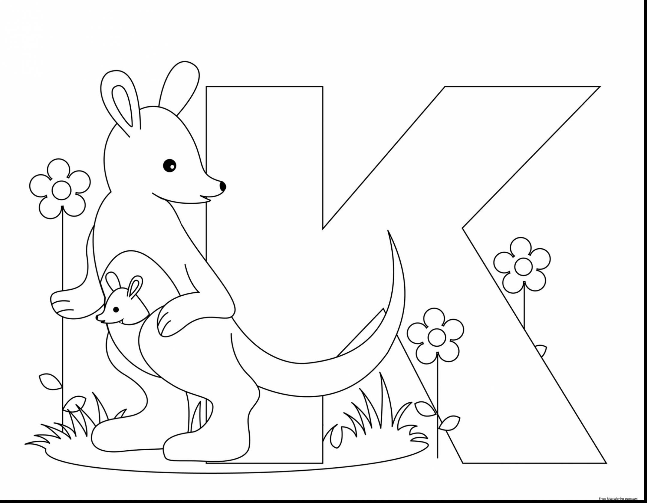 2159x1679 Animal Alphabet Coloring Pages