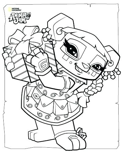 400x518 Animal Jam Pictures To Color Daily Coloring Pages Animal Jam