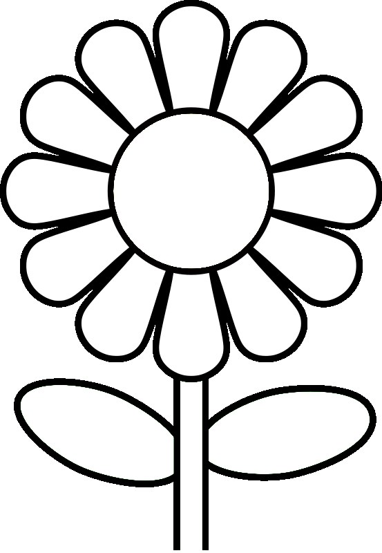 553x800 Daisy Coloring Pages To Print