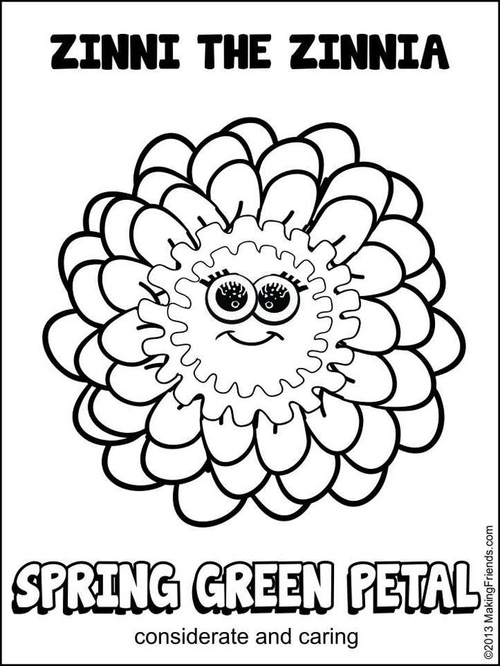 708x943 Daisy Spring Green Petal Maze Daisy Girl Scouts, Daisy Girl