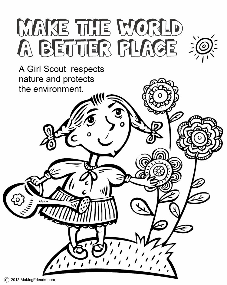 750x943 Scout Leader Blog Daisy Make The World A Better Place Petal