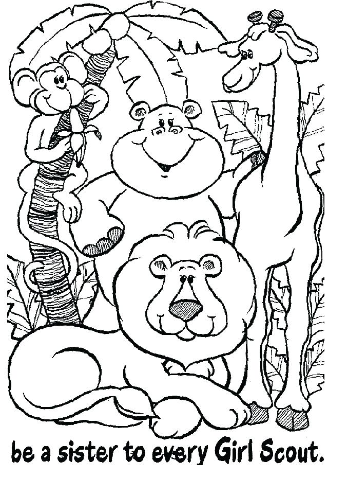 676x964 Coloring Pages For Girl Scouts Daisy Petal Coloring Page Coloring