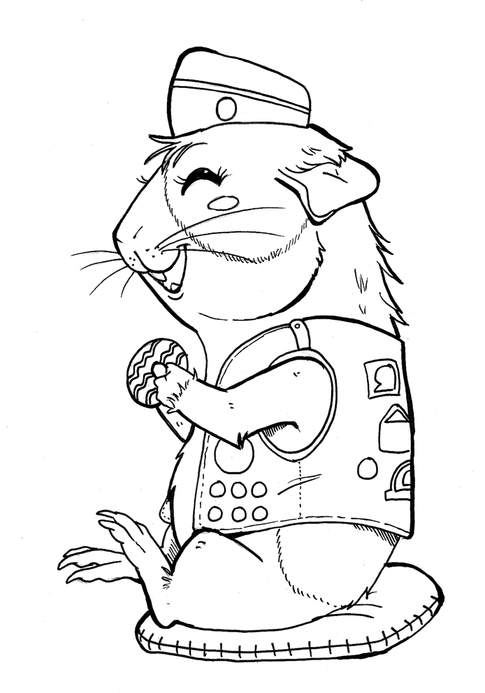 694x992 Girl Scout Coloring Pages Free To Print