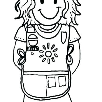 350x350 Coloring Pages For Girl Scouts Amazing Girl Scout Coloring Pages