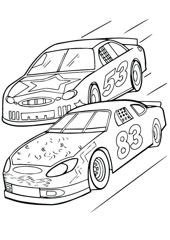 595x842 Nascar Coloring Pages Dale Earnhardt Jr Pics Of All Race Car
