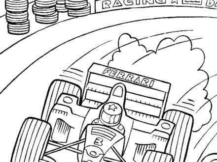 440x330 Nascar Coloring Pages Dale Earnhardt Jr