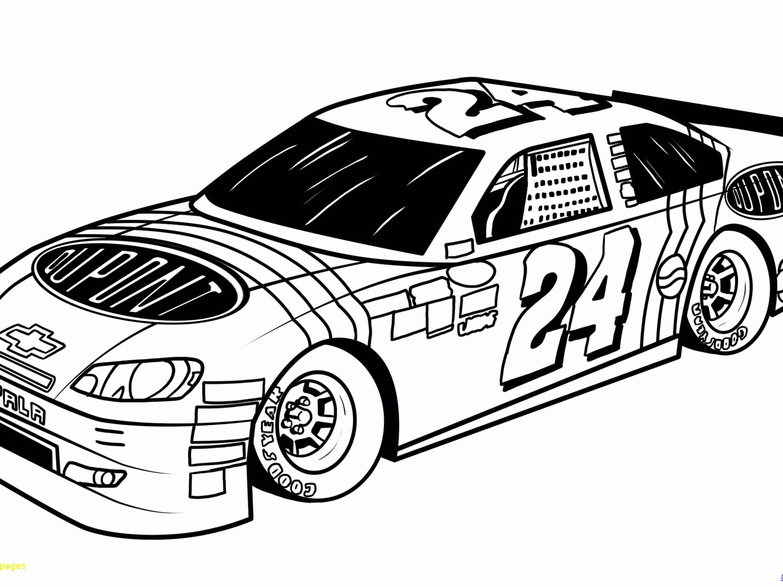 1600x1200 Coloring Pages For Children Awesome Breathtaking Nascar Coloring