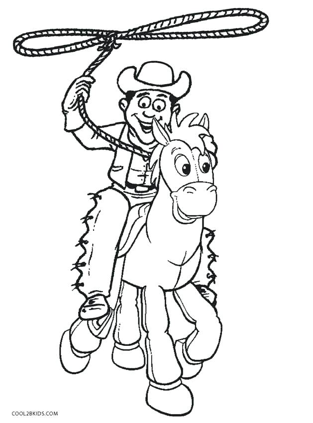 629x850 Cowboys Coloring Pages Murs