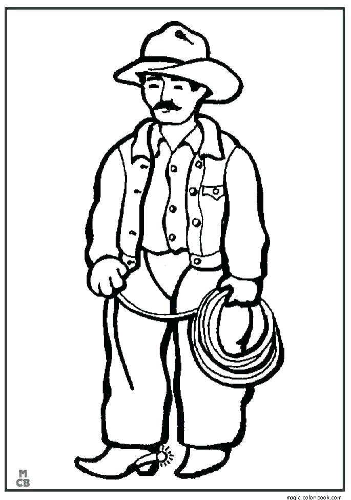 685x975 Cowboy Printable Coloring Pages Sheets For Kids New Book Dallas