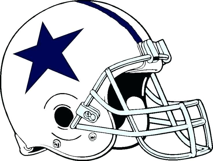 736x559 Dallas Cowboys Coloring Pages