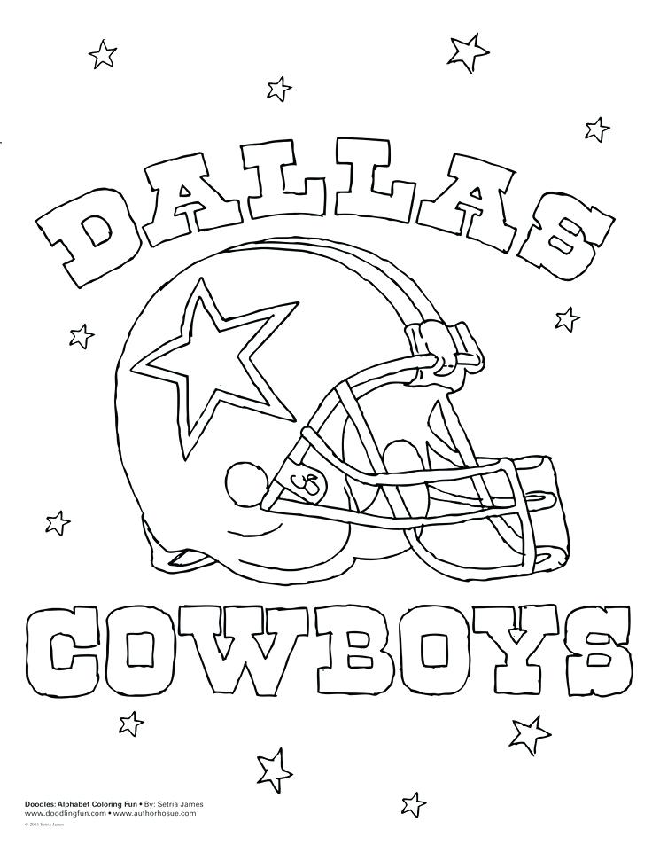 736x953 Dallas Cowboy Coloring Pages Cowboys Coloring Page Cowboys