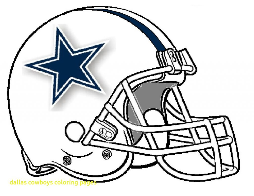 1024x791 Dallas Cowboys Football Coloringges Free Nfl Logo Preschool