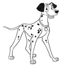 Dalmatian Puppy Coloring Pages