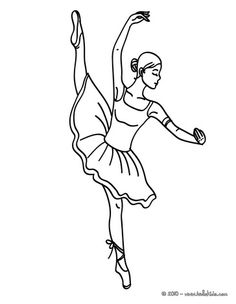 236x304 Little Ballet Dancer Smiling Coloring Page Fun Coloring Pages