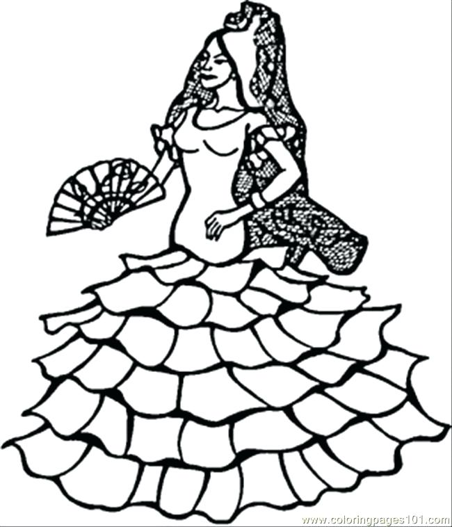 650x758 Dance Coloring Pages To Print Dancer Coloring Page Dance Coloring