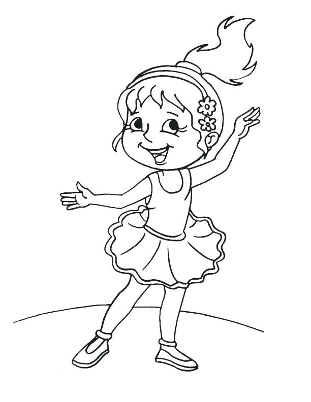 612x792 Dancers Coloring Pages Ballet Dancer Coloring Pages Cute Girl